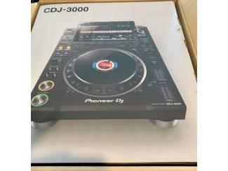 Dj-sets Pioneer Cdj-3000, Pioneer Cdj 2000 Nexus2, Pioneer Djm 900 Nexus2