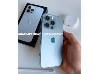 Apple iPhone 13 Pro 128GB  €700, iPhone 13 Pro Max 128G  €750