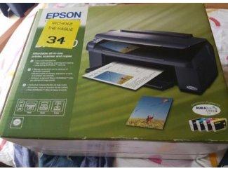 Nw Epson Printer met cartridges